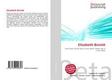 Portada del libro de Elizabeth Brontë