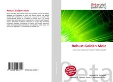 Bookcover of Robust Golden Mole