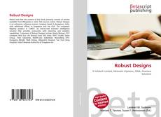 Bookcover of Robust Designs