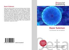 Bookcover of Razor Suleman