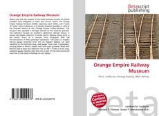 Orange Empire Railway Museum kitap kapağı