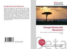 Copertina di Orange Democratic Movement