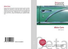 Capa do livro de Alvis Cars