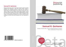 Bookcover of Samuel R. Quiñones