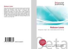 Bookcover of Robson Lowe