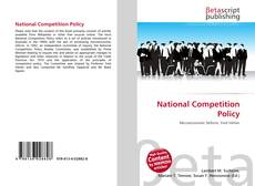 Portada del libro de National Competition Policy