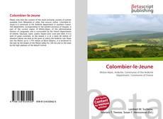 Bookcover of Colombier-le-Jeune
