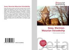 Bookcover of Sowy, Warmian-Masurian Voivodeship