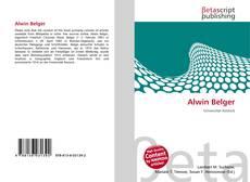 Bookcover of Alwin Belger