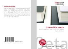 Samuel Rousseau kitap kapağı