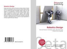 Couverture de Robotics Design