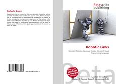 Bookcover of Robotic Laws