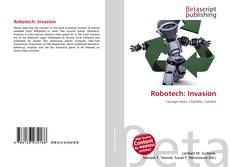 Capa do livro de Robotech: Invasion