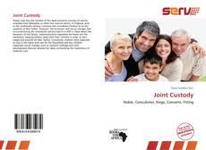 Joint Custody kitap kapağı