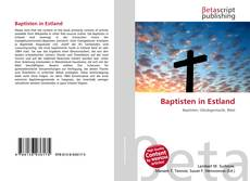Bookcover of Baptisten in Estland