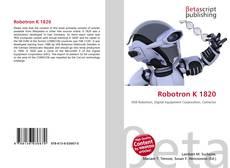 Portada del libro de Robotron K 1820