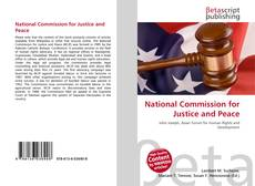 Buchcover von National Commission for Justice and Peace
