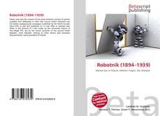 Bookcover of Robotnik (1894–1939)