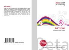 Bookcover of Alì Terme
