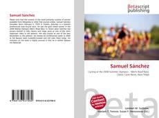 Capa do livro de Samuel Sánchez