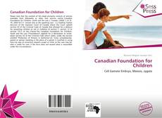 Bookcover of Canadian Foundation for Children