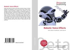 Bookcover of Robotic Voice Effects