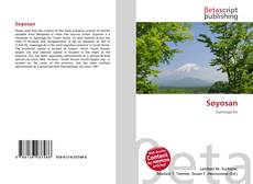Bookcover of Soyosan
