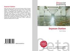 Bookcover of Soyosan Station