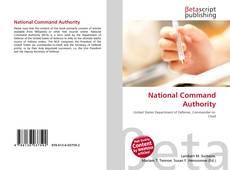 Buchcover von National Command Authority