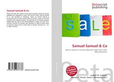 Couverture de Samuel Samuel & Co