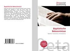 Couverture de Baptistische Bekenntnisse