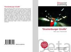 "Capa do livro de ""Oranienburger Straße"""