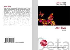 Alén Diviš kitap kapağı