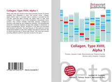 Bookcover of Collagen, Type XVIII, Alpha 1