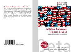 National Collegiate Honors Council的封面