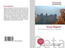 Bookcover of Orava (Region)