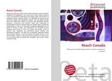 Capa do livro de Reach Canada