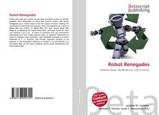Robot Renegades kitap kapağı