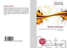 Bookcover of Doctor Thirteen