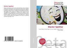 Bookcover of Doctor Spektor