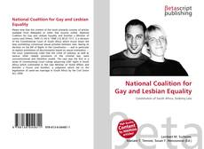 Bookcover of National Coalition for Gay and Lesbian Equality