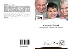 Bookcover of Childhood Studies