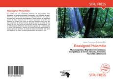 Capa do livro de Rossignol Philomèle