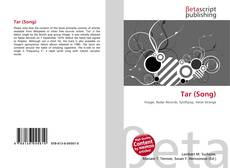 Bookcover of Tar (Song)
