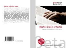 Обложка Baptist Union of Wales