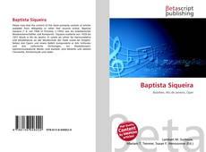 Baptista Siqueira kitap kapağı