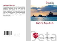 Capa do livro de Baptista de Andrade