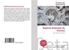 Capa do livro de Baptiste Androuet du Cerceau