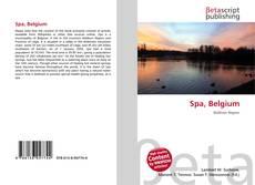 Bookcover of Spa, Belgium