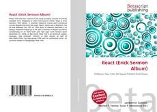 Обложка React (Erick Sermon Album)